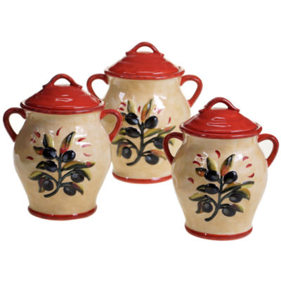 Certified International 3-pc. Umbria Canister Set