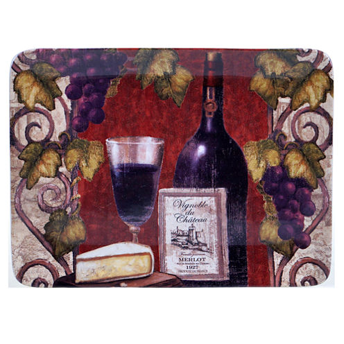 Certified International Wine Tasting Rectangular Platter