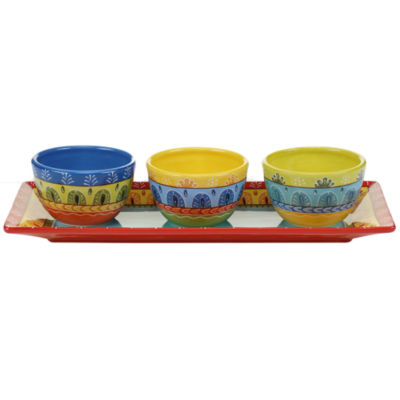 Certified International 4 -pc. Valencia Serving Set