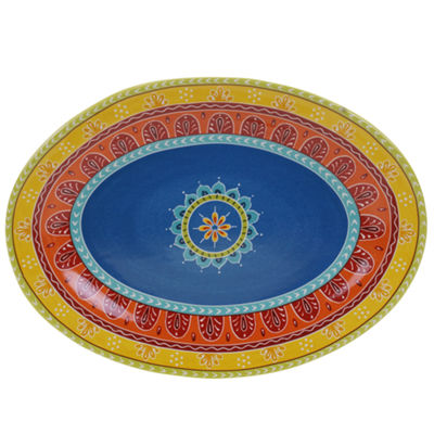 Certified International Valencia Oval Platter