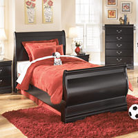 Signature Design by Ashley Guthrie Bed (Twin, Black)