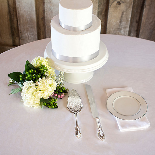 Cathy's Concepts Vintage Cake Serving Set