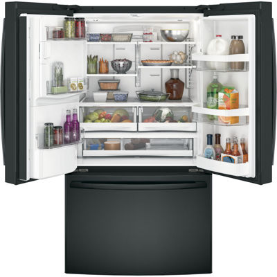 GE® Series ENERGY STAR® 25.8 cu. ft. French Door Refrigerator
