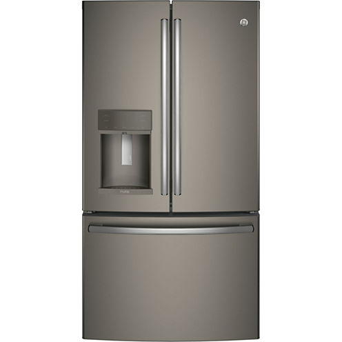 GE Profile™ Series Energy Star® 22.2 cu. ft. Counter-Depth French Door Refrigerator