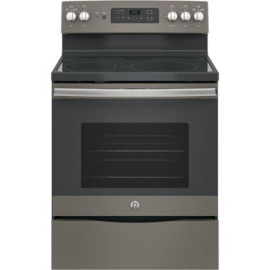 "GE® 30"" 5.3 cu. ft. Free-Standing Electric Convention Range"
