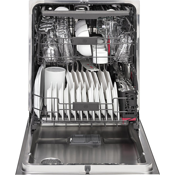 GE Profile™ ENERGY STAR® Series Stainless Steel Interior Dishwasher with Hidden Controls