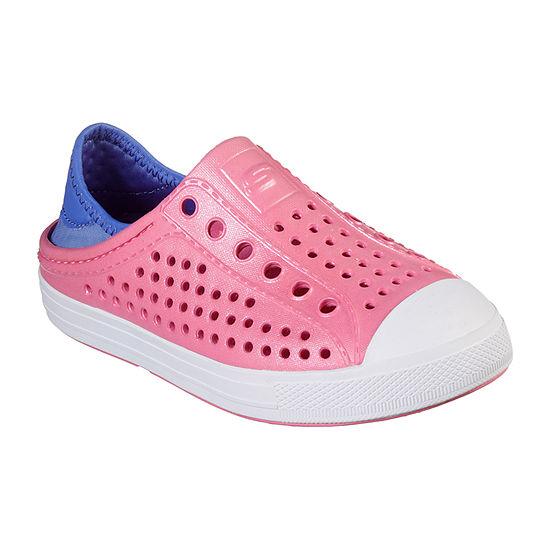 Skechers Little Kid/Big Kid Girls Guzman Steps Slip-On Shoe Closed Toe