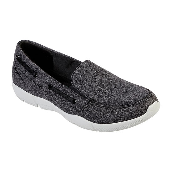 Skechers Womens Be Lux Easily Done Slip-on Shoe