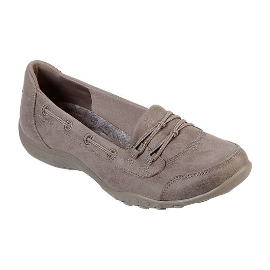 Skechers Womens Breathe Easy   Sole Full Slip-On Shoe