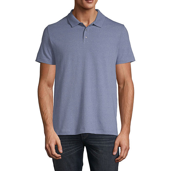 Claiborne Solid Short Sleeve Polo