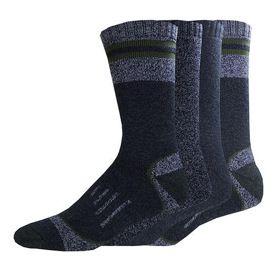Dickies® Mens 4-Pk. Moisture Control Boot Crew Socks