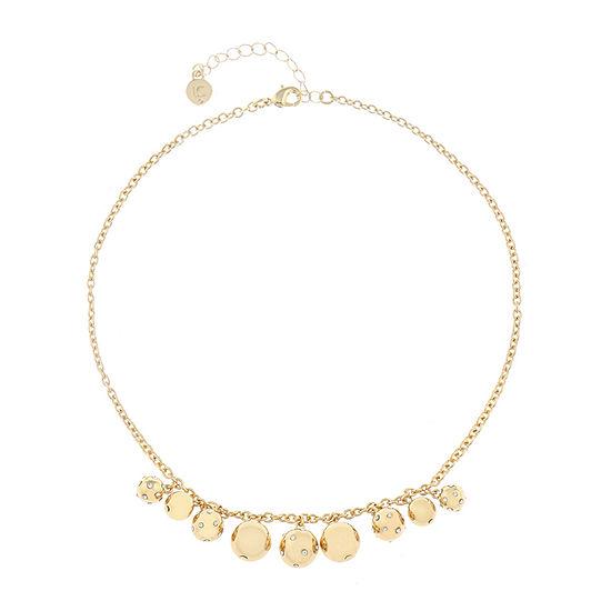 Liz Claiborne 17 Inch Cable Collar Necklace