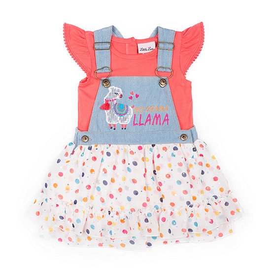 Little Lass Toddler Girls 2-pc. Skirt Set