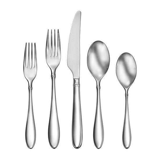 Craft Kitchen Arlo 45-pc  Flatware Set - JCPenney
