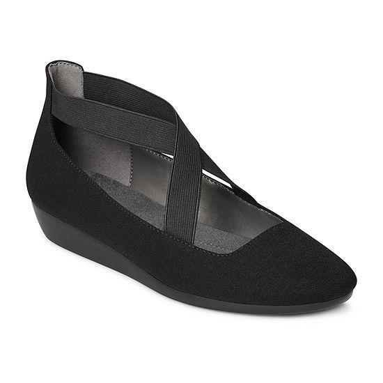 Aerosoles Womens March Over  Round Toe Slip-On Shoe
