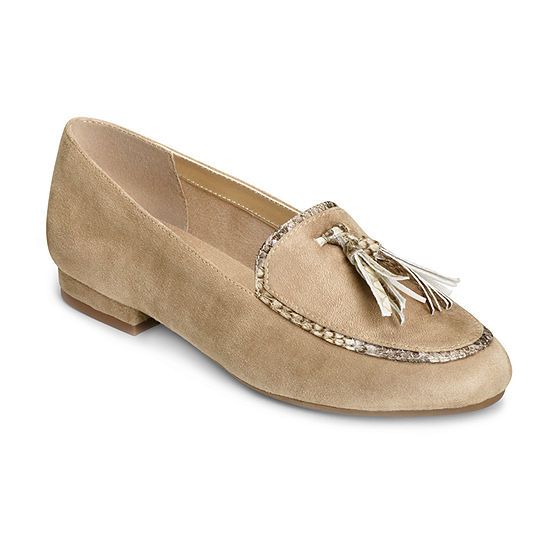 A2 by Aerosoles Womens Out Of Space Loafers Round Toe