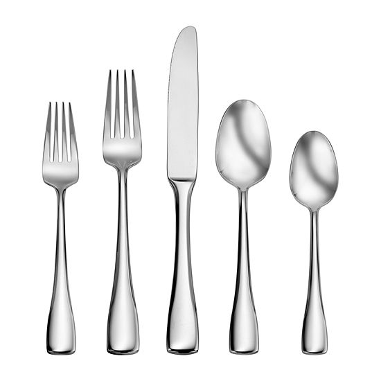 Craft Kitchen Weslyn 45-pc. Flatware Set