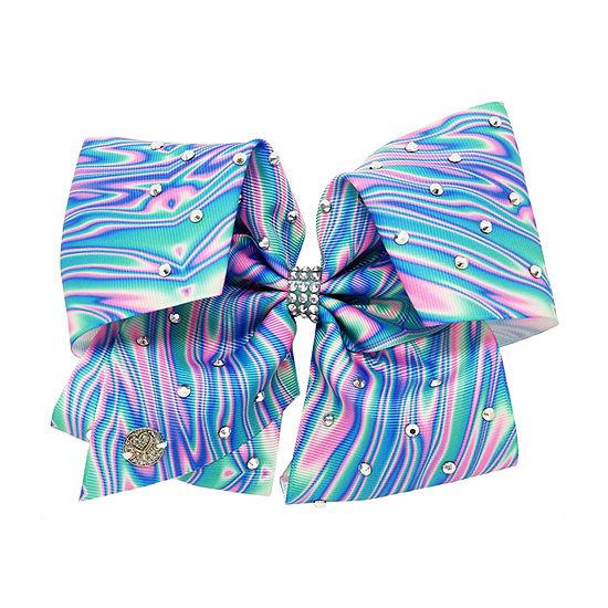 Jojo Siwa Signature Blue and Pink Marbled Bow