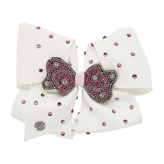 Jojo Siwa Signature Pink Stone Bow