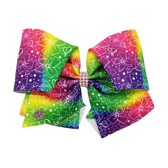 Jojo Siwa Signature Rainbow Bow Print Bow