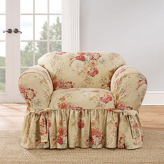 Sure Fit Ballad Bouquet 1pc Shrd Chair Armchair Slipcover