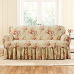 Sure Fit Ballad Bouquet 1pc Loveseat Slipcover