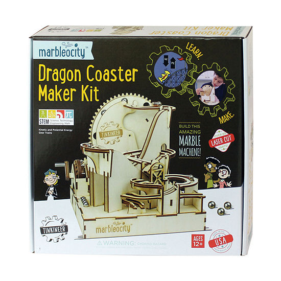 Play Monster Marbleocity - Dragon Coaster Maker Kit