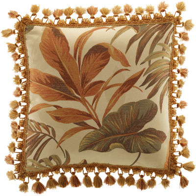 Croscill Classics® Grand Isle Tassel Square Decorative Pillow