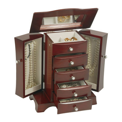 Mele & Co. Bette Wooden Jewelry Box