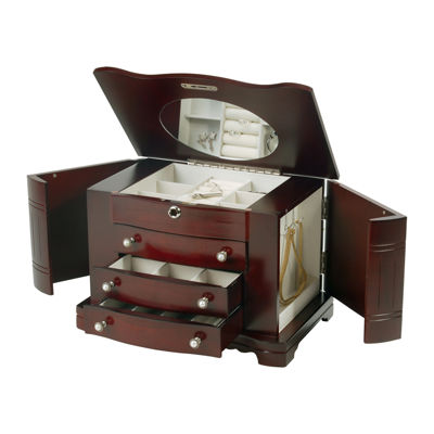 Mele & Co. Rita Wooden Jewelry Box