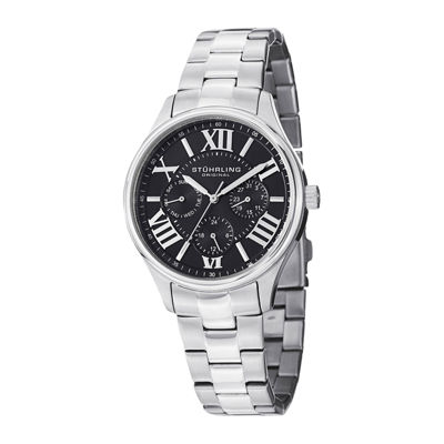 Stührling® Original Womens Stainless Steel Bracelet Watch