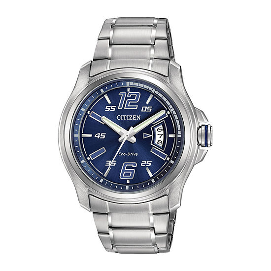 Drive from Citizen Mens Silver Tone Stainless Steel Bracelet Watch-Aw1350-83m