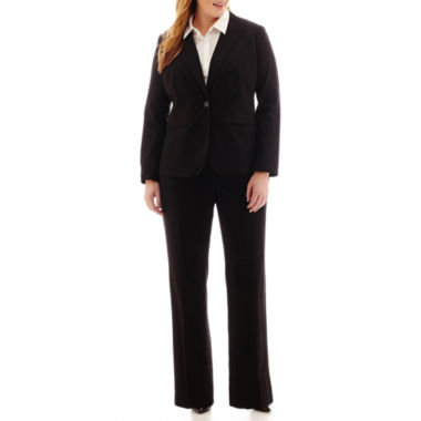 jcpenney.com | Liz Claiborne® One-Button Suit Jacket, Button-Front Shirt or Slender Pants - Plus