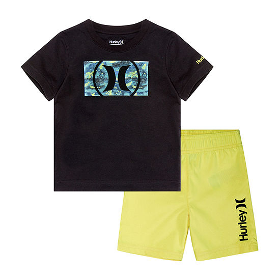 Hurley Boys Trunk Set Toddler