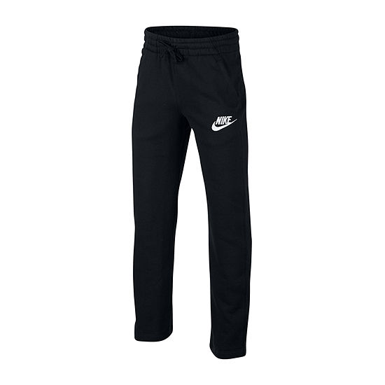 Nike Boys Cotton Fleece Straight Pull-On Pants - Big Kid
