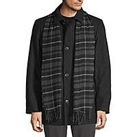 JCPenney deals on Dockers Wool Scarf Coat