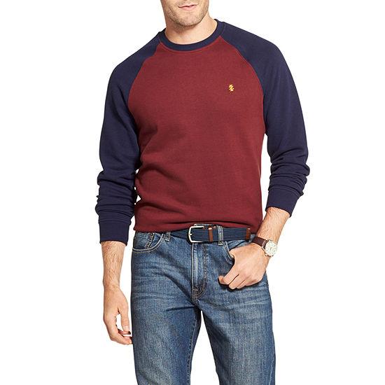IZOD Performance Crew Neck Long Sleeve Pullover Sweater