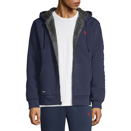 U.S. Polo Assn. Hooded Midweight Fleece Jacket