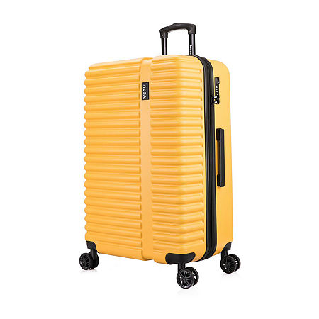 InUSA Ally Hardside 28 Inch Luggage, One Size , Yellow
