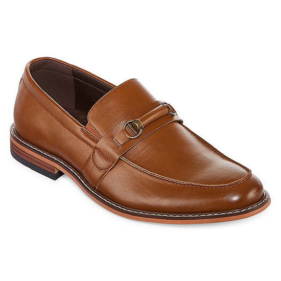 JF J.Ferrar Mens Saddell Slip-On Shoe Pointed Toe