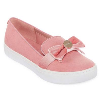 Liz Claiborne Womens Weaver Slip-On Shoes
