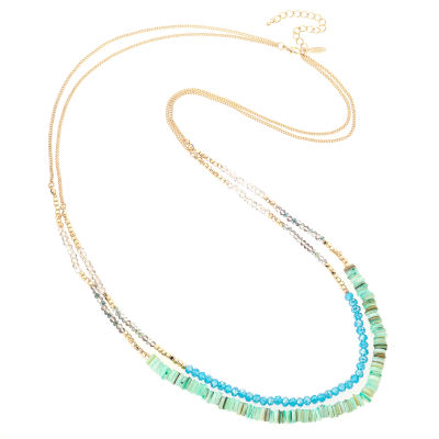 Natasha Accessories Beaded Necklace