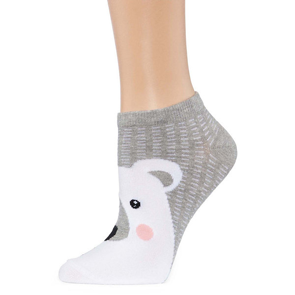 City Streets Low Cut Socks - Womens