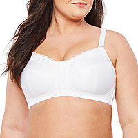 8018bb6268 Underscore Front-Close Posture Back Wireless Unlined Full Coverage Bra