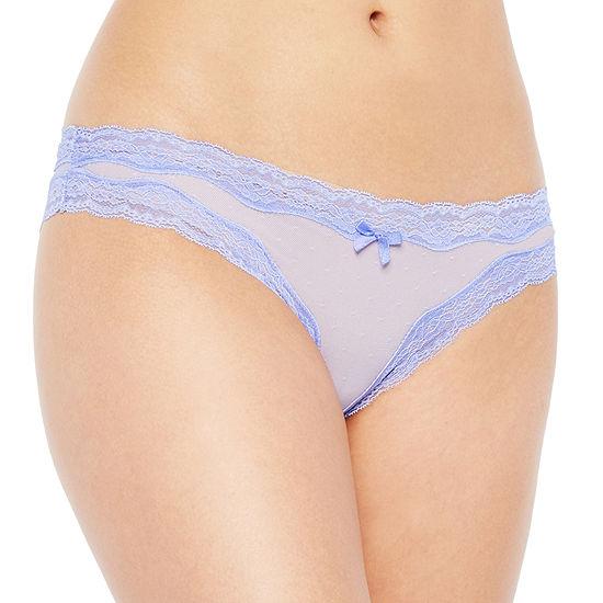 Ambrielle® Point D' Esprit Cheeky Panty