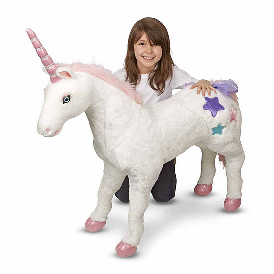 Melissa & Doug® Unicorn - Plush