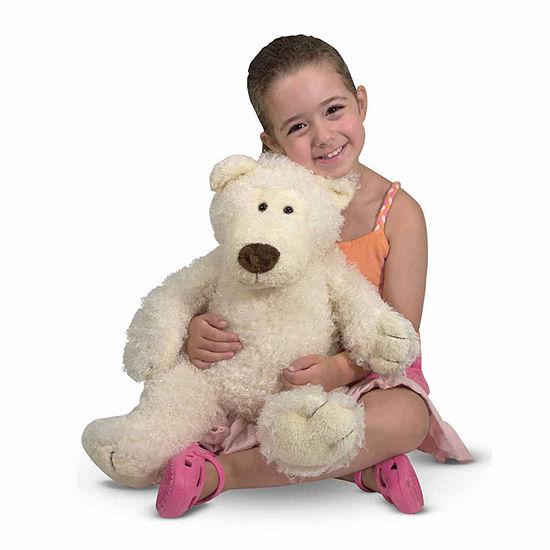 Melissa & Doug Big Roscoe Teddy  Bear - Vanilla