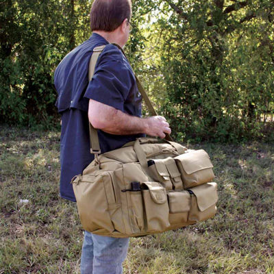 Red Rock Outdoor Gear Operations Duffle Bag - Coyote