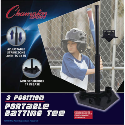 Champion Sports 3 Position Batting Tee