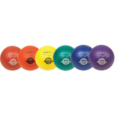 Champion Sports 8.5 Inch Super Soft Rhino Skin Playground Ball Set